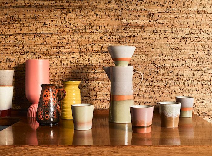 Ceramic 70's Mugg Mars