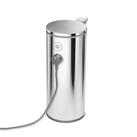 Sensor Tvålpump Plerad Rostfritt Stål 266ml