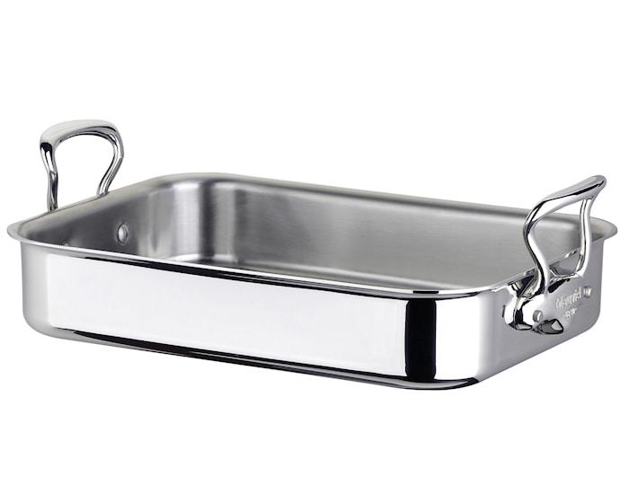 Cook Style Ovnspanne 40x30cm blank stål