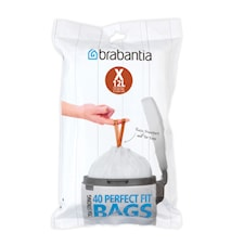 PerfectFit Rubbish bags 12L [40 bags]