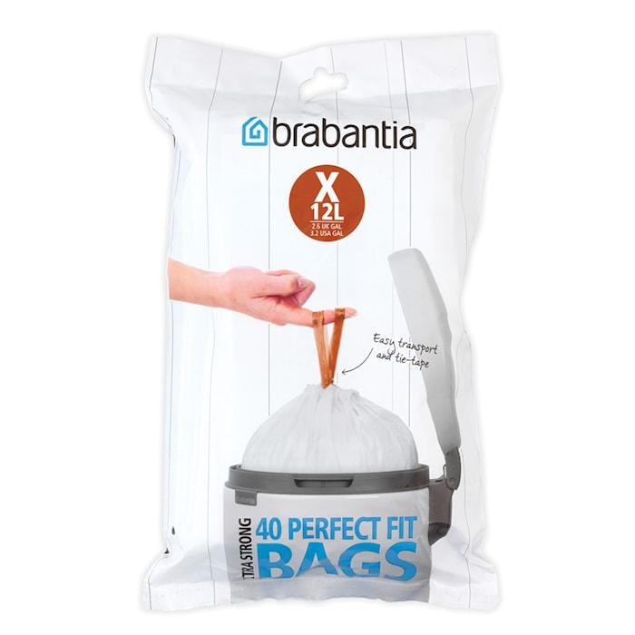PerfectFit Affaldspose X 12L(40 poser per forpakning)