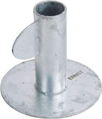 Ljusstake 9 cm Galvaniserad Stål