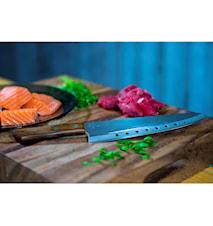 No Vac Kødkniv 21 cm træhåndtag