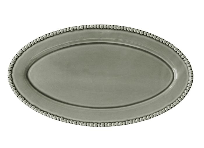 DARIA soikea lautanen vaaleanvihreä 50 cm