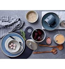 Hazel Onion Jar, Grå, Stoneware