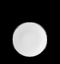 Rhombe Coupe Tallrik Vit Ø20 cm