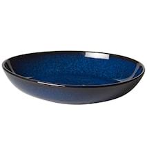 Lave bleu Tallerken 21 cm
