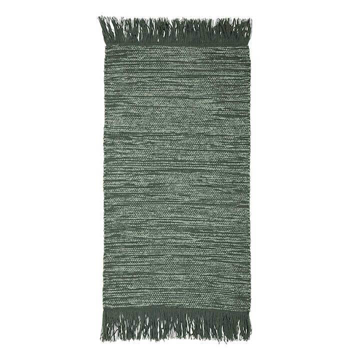 Teppe Woolf Green 120 x 60 cm