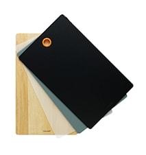Functional Form cutting board set Birch & Plastic