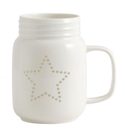 Ljuslykta Star Mug