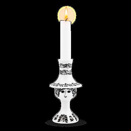 Rosalinde Ljusstake svart 16,5cm
