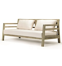 Costes sofa inkl. nature white puter