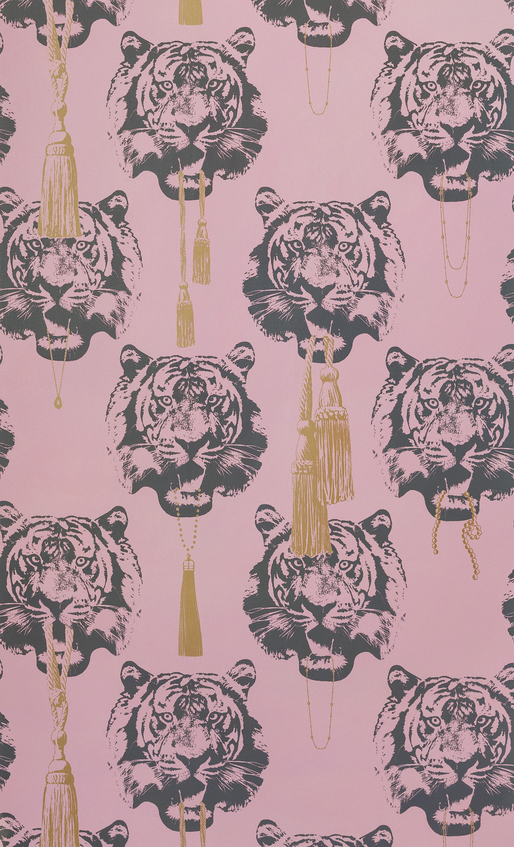 Tapet Coco Tiger Rosa