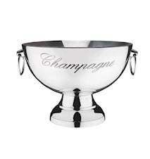 Seau à champagne Christel aluminium/chrome
