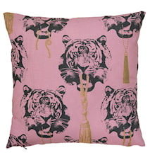 Coco Tiger rosa kudde 2-pack