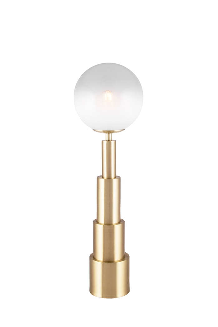 Astro Bordslampa Borstad Mässing 15 cm