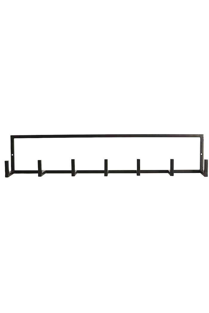 Klesoppheng 60x12 cm - Svart