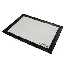 Tapis de cuisson professionnel fibre de verre blanc 30 x 40 cm petit