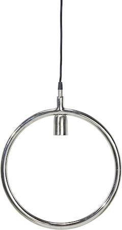 Circle taklampe Krom 25 cm