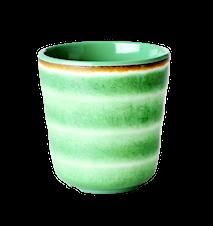 Mugg Vatten Virvel Melamin Grön