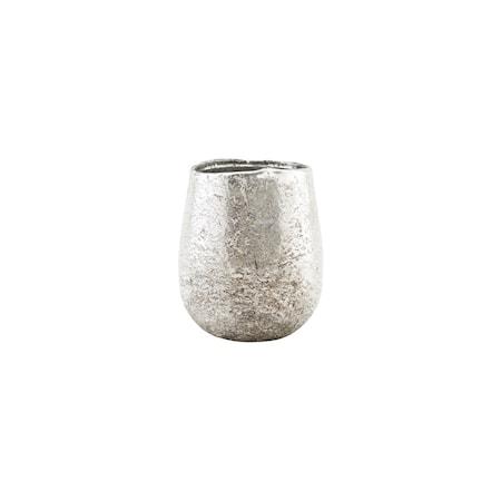 Ljusstake Silver 10 cm