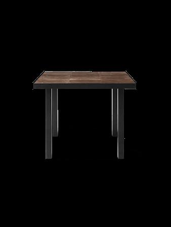 Flod Tiles Cafébord Moka/svart