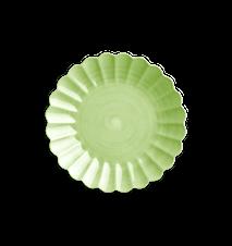 Oyster Tallrik Grön 28 cm