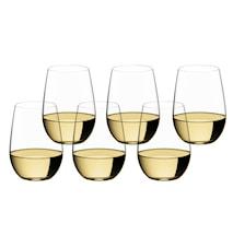 O Wine Riesling/Sauvignon Blanc, 6-pakning