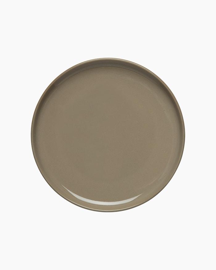 Oiva Tallrik Brun 13,5 cm
