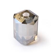Candelabro de cristal gris diamante