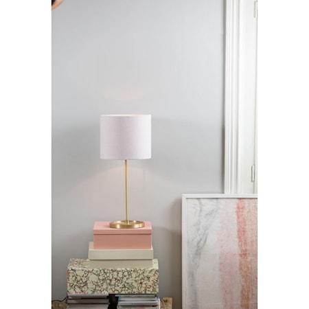 Sanna 28 cm lampeskjerm - Pale pink