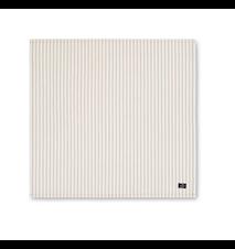 Icons Cotton Herringbone Servett Beige/Vit 50x50cm