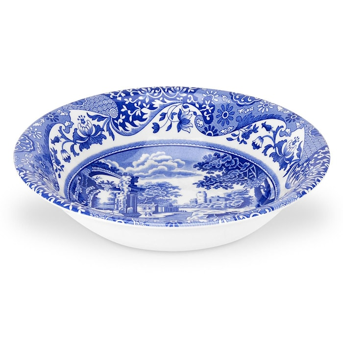 Blue Italian Aamiaiskulho 20 cm