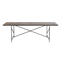 Dining table 230 cm mässing - Colombe d'Or