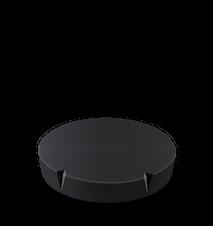 Lid for Grand Cru Storage Jar Ø11 cm Black