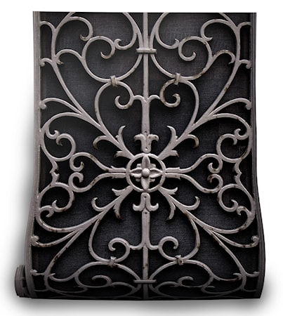 Wrought Metal Gate - tapet