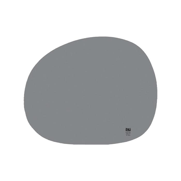 Raw Bordstablett Organic ljusgrå