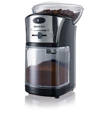 Kaffeemühle Schwarz-Silber