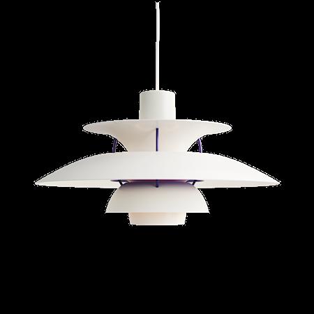 PH 5 Taklampe - Klassisk Hvit
