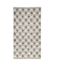 Carpet 170x90 cm Grey/Off white