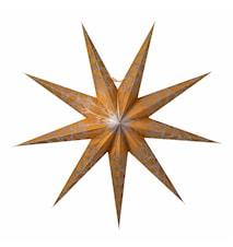 Iris Julstjärna Guld/Silver 80 cm