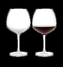 Premium Rödvinsglas 93 cl klar 2 st
