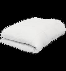 Cura Pearl 9 kg Gewicht Steppdecke 150x210 cm Weiß