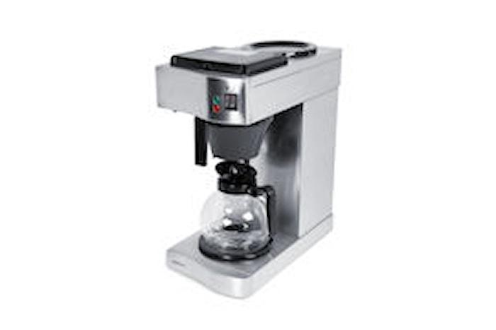 Kaffebryggare manuell påfyllning