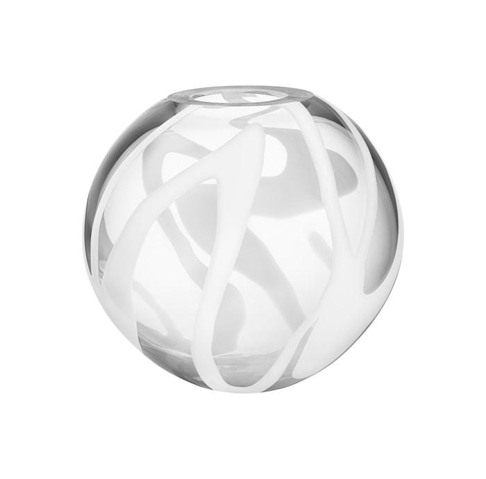 Globe Hvit Vase