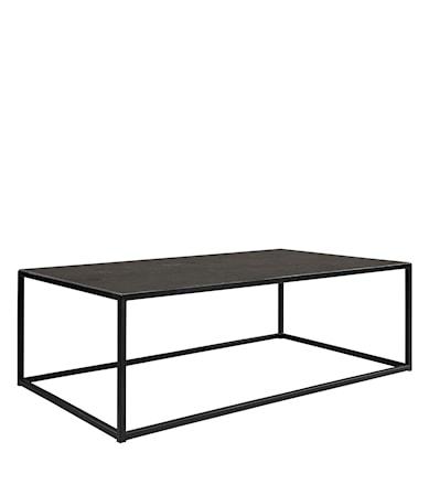 Amalfi Soffbord 130x75 Bluestone/black