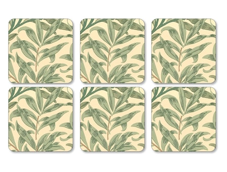 Dessous de plat Willow Bough lot de 6 vert