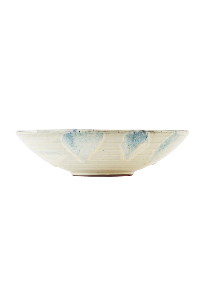 Skål Mio Ø 23x6 cm - Hvit/blå