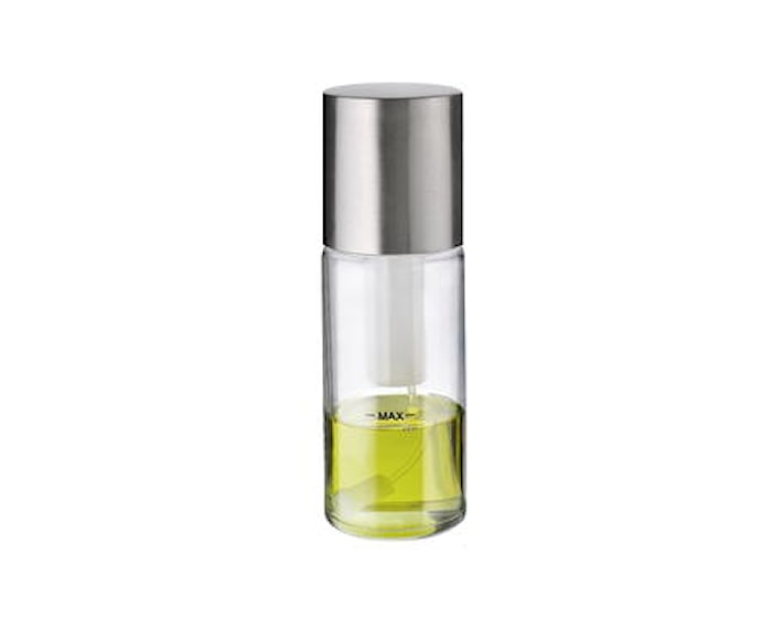 Oljeflaske/eddikflaske II spray klar/stål - 19 cm
