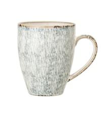 Natasha Mug, Grey, Stoneware